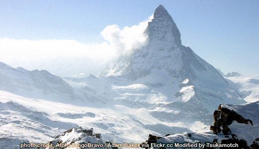 Matterhorn and Gornergrat photo credit by AlphaTangoBravo / Adam Baker
