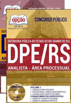 Apostila PDE-RS 2017 Analista - Área Processual