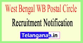 West Bengal WB Postal Circle Recruitment Notification 2017