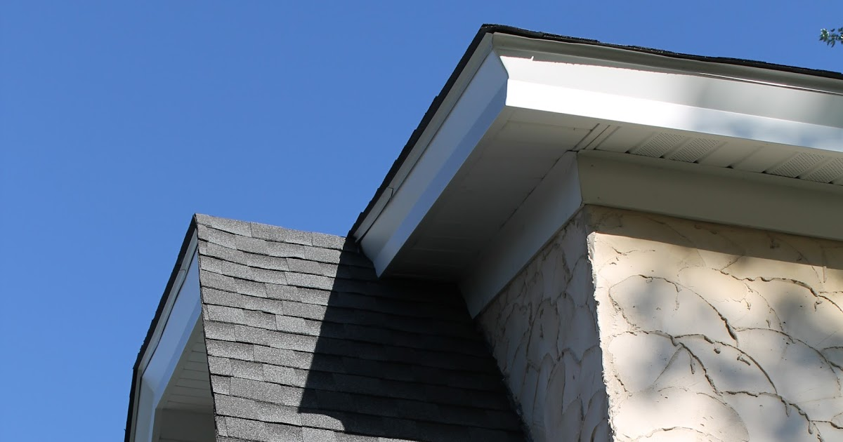 Hammers And High Heels A Completed Roof Gutters Soffit