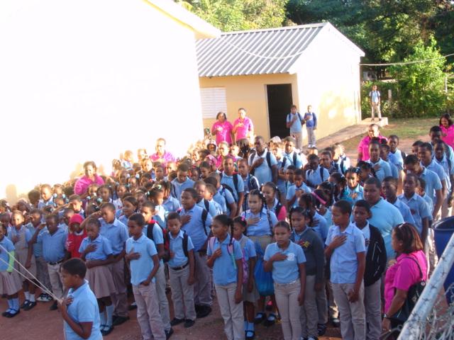 Ministerio de educación se burla de los estudiantes de La Guázara de Barahona