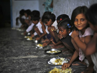 poor children in government homes India