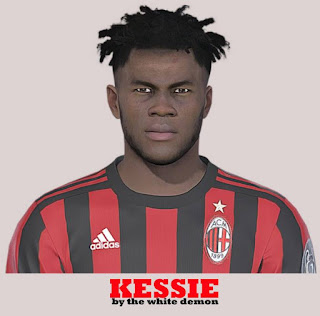 PES 2019 Faces Franck Kessié by The White Demon