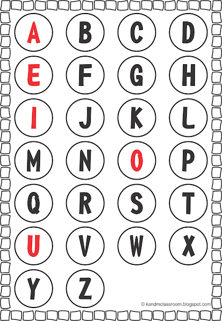 Free Alphabet Upper Case Poster Printable