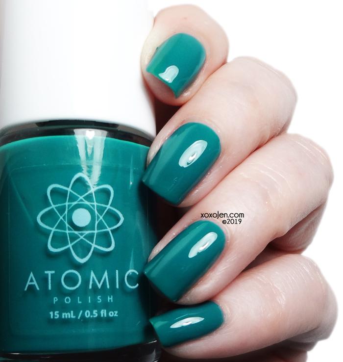 xoxoJen's swatch of Atomic Pd (Palladium)