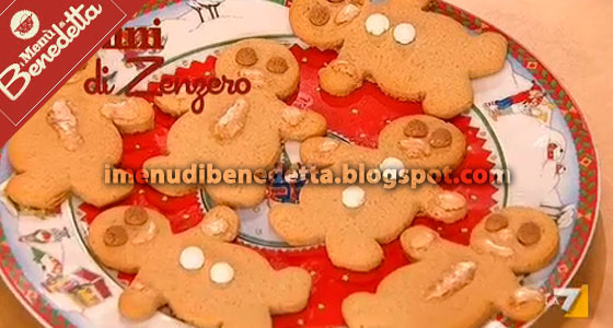 Biscotti Di Natale Uccia.Ricette Dolci Di Benedetta Parodi