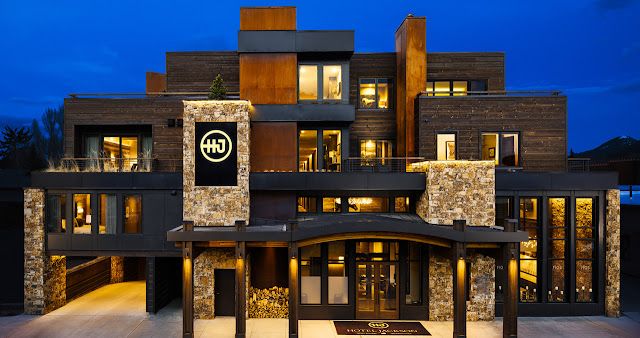 The finest award-winning luxury boutique hotel in Jackson Hole, Wyoming, – one block from the world-renowned Jackson Town.