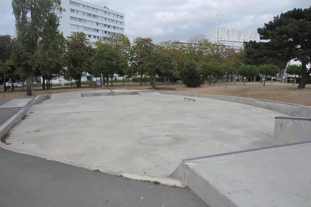 la rochelle mireuil skatepark