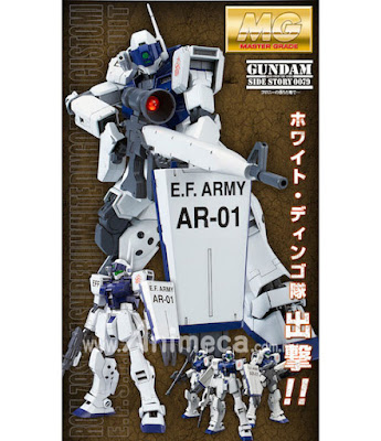 GM Sniper II RGM-79SP White Dingo Team Custom Master Grade (MG) 1/100 Model Kit Mobile Suit Gundam Gaiden