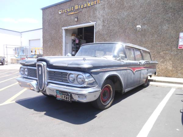 1959 Edsel Wagon Project