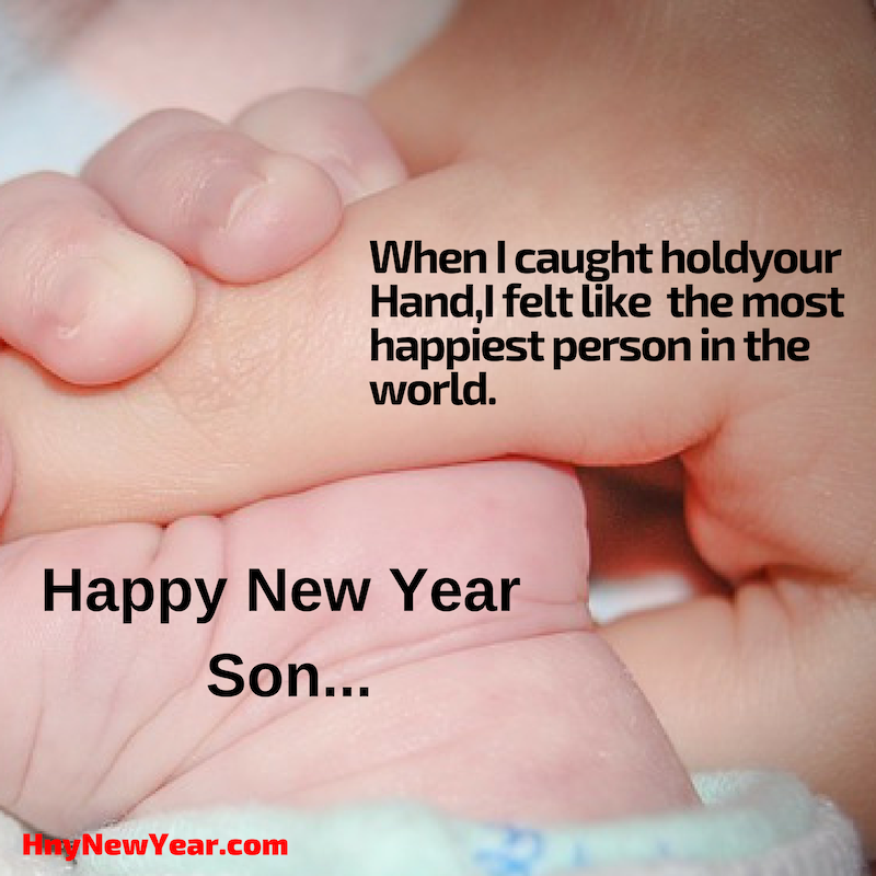 New Year Wishes For Son