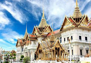 Bangunan komples di Bangkok, Thailand
