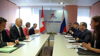 12th ASEM Summit Held in Brussels, Belgium