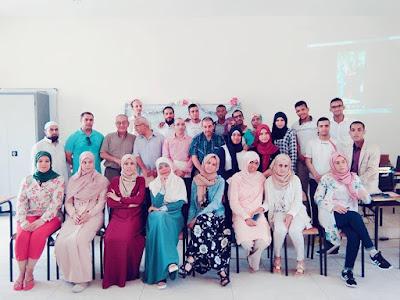مراكش :حفل تخرج طلبة الإجازة المهنية: ديداكتيك اللغة العربية
