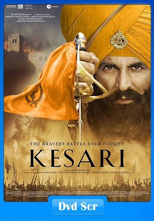 Kesari 2019 Hindi HQ DVDScr x264 | 480p 300MB | 100MB HEVC