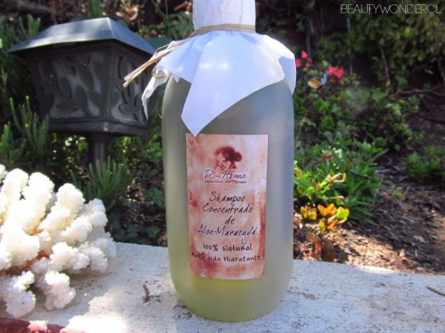 reseña shampoo aloe maracuya di nonna chile