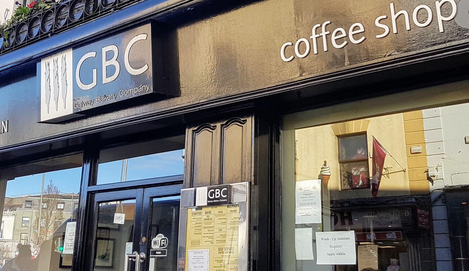 GBC - Galway Baking Company shopfront 2019