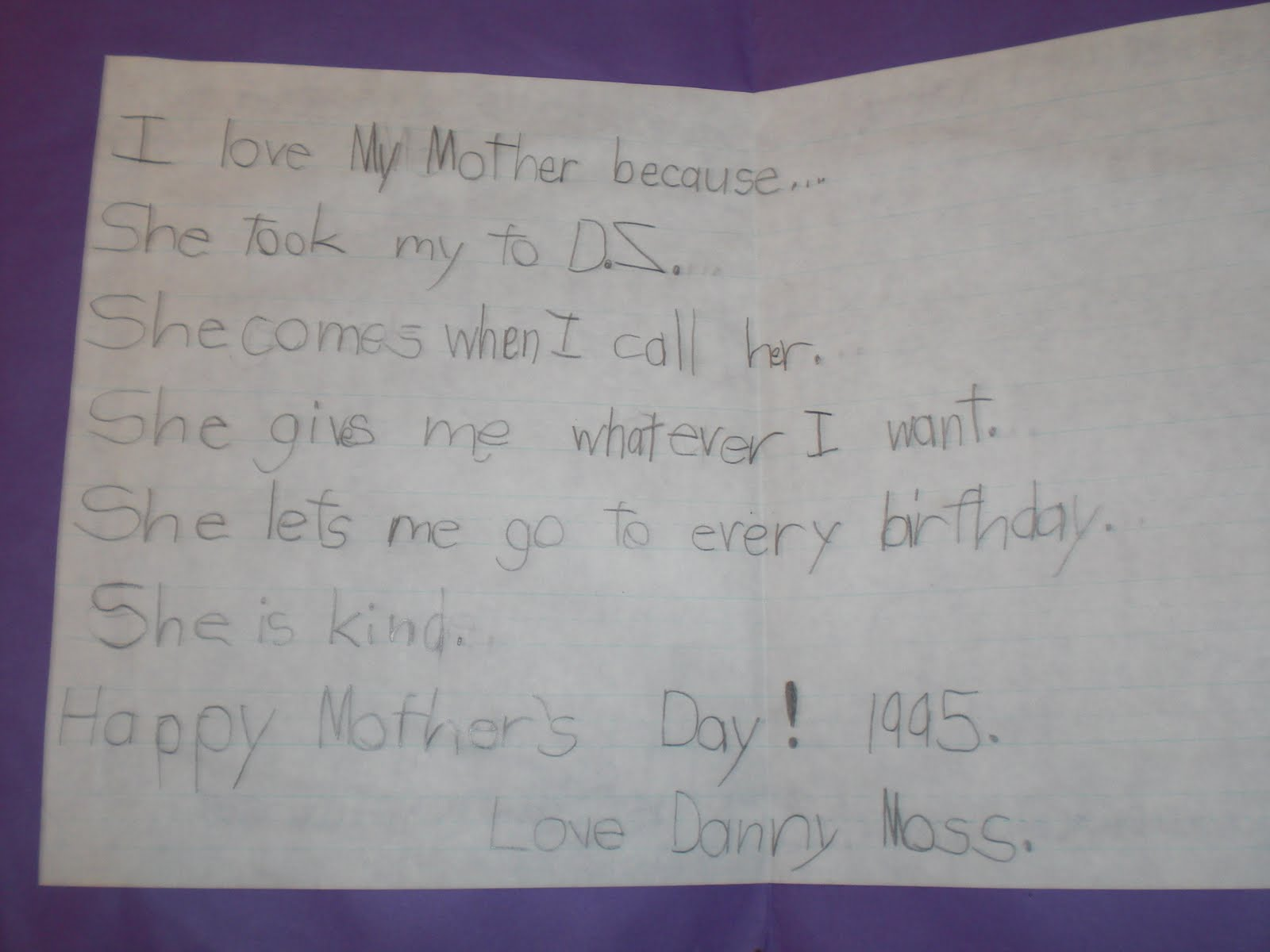 PATTIES CLASSROOM: To the Picasso of Mothers! Happy Mother's