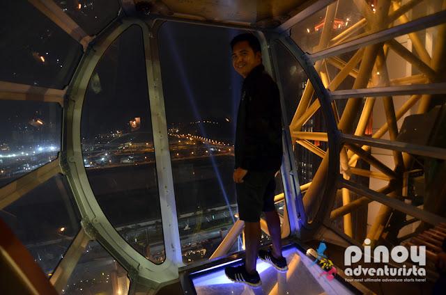 Golden Reel Ferris Wheel at Studio City Macau