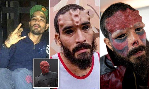 Pria Venezuela Terobsesi Komik Marvel Dan Merubah Wajahnya Menjadi Red Skull