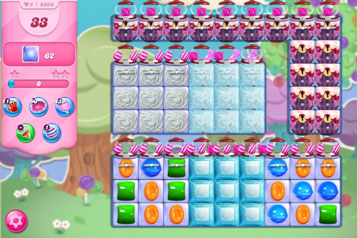 Candy Crush Saga level 5363