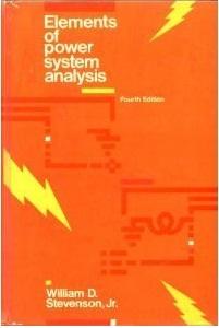 Power System Analysis Stevenson Pdf