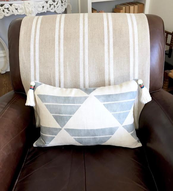 Zak and Fox Uroko lumbar pillows