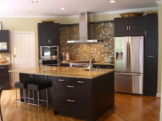 pavimento lucido in cucina immagine