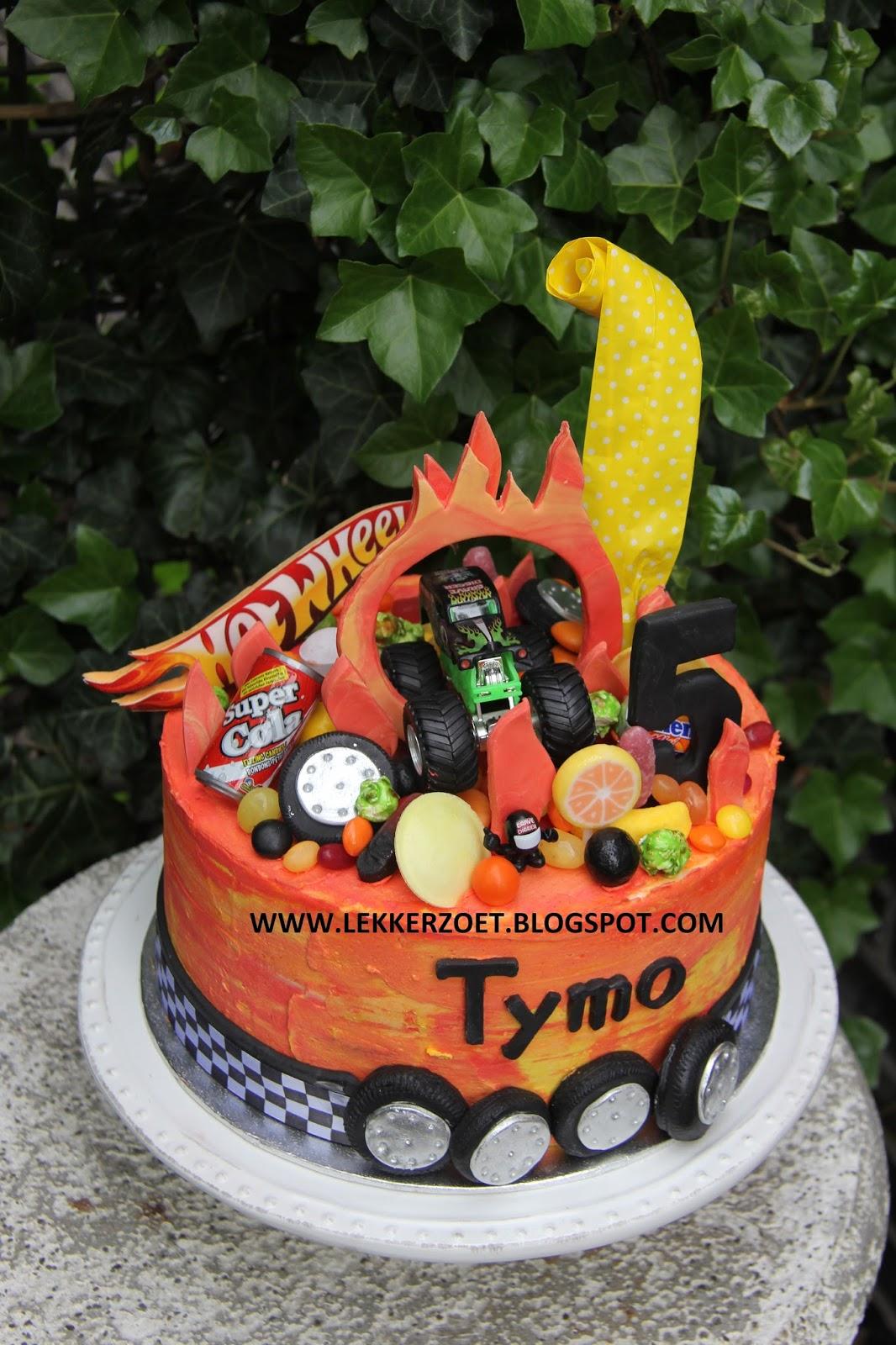 Super lekker zoet: Hot Wheels voor Tymo #LK72