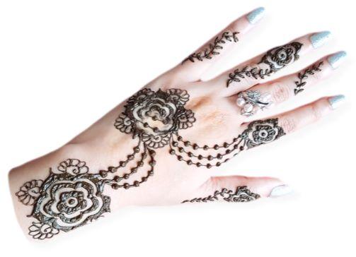 Rose Jewellery Henna