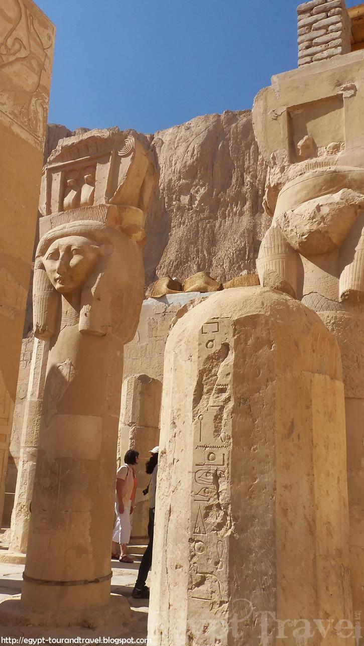 Egypt Travel The Deir El Bahari Or Temple Of Hatshepsut