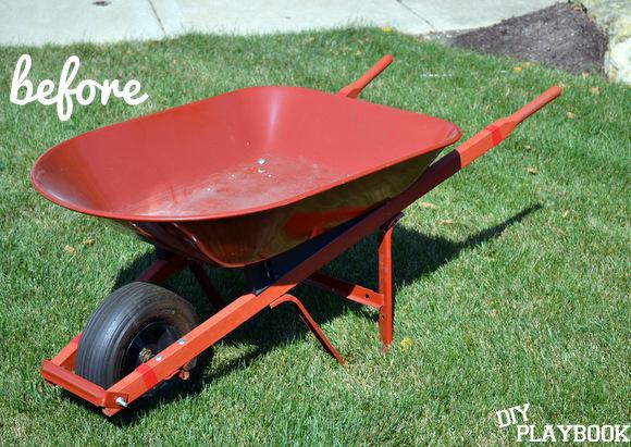Wheelbarrow Planter | DIY Playbook
