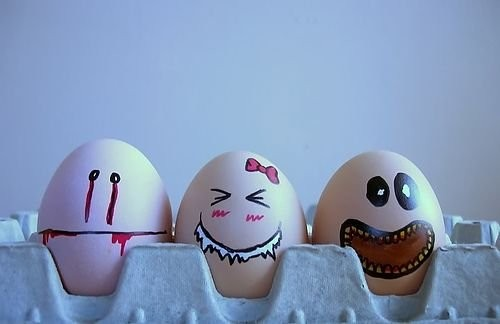 Picture Gallery: 40 Creative and Funny Egg Paintings