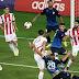 Καταιγισμός από γκολ στο Καραϊσκάκη, όπου ο Ολυμπιακός μέσα σε δύο λεπτά έκανε το σκορ 4-1.