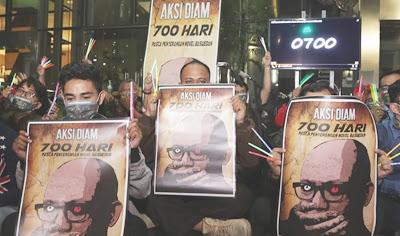 Penyerang Novel Belum Tertangkap, Gedung Merah Putih KPK Gelap