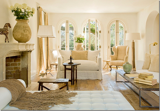 Color outside the lines a little modern traditional mix - Modern french country decor ...