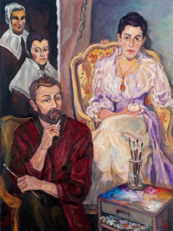 Зазеркалье картины. Андрей Аллахвердов