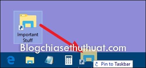 Ghim thư mục vào thanh Task trên Windows 10 dễ dàng