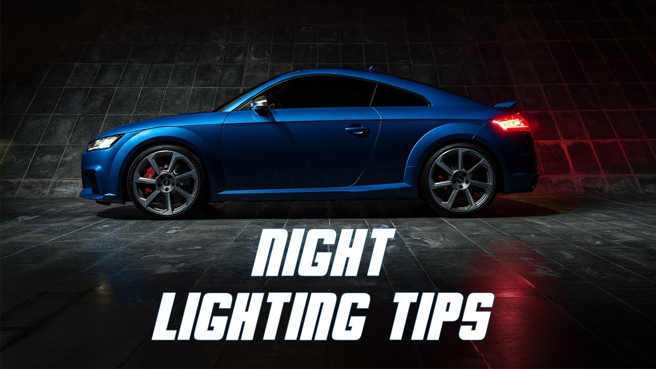 Car Photography lighting tips & techniques