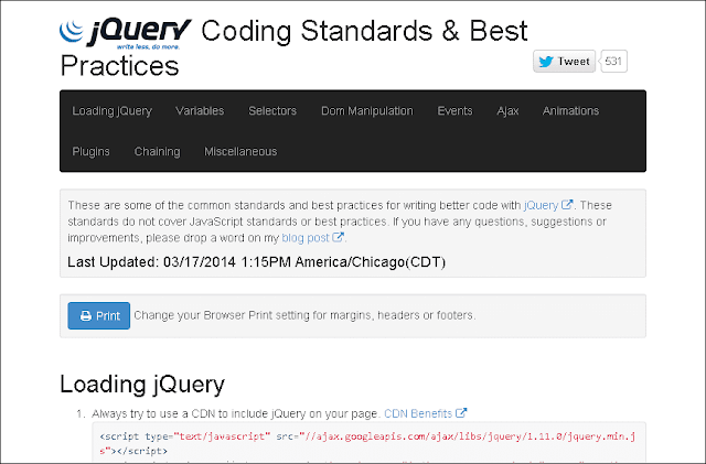 jQuery Coding Standards & Best Practices | jQuery By Example