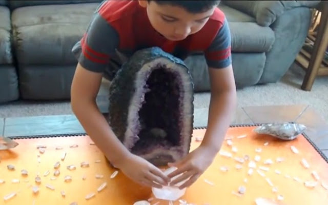 Watch Child Prodigy: How Crystals Clear & Transmute Negative Power