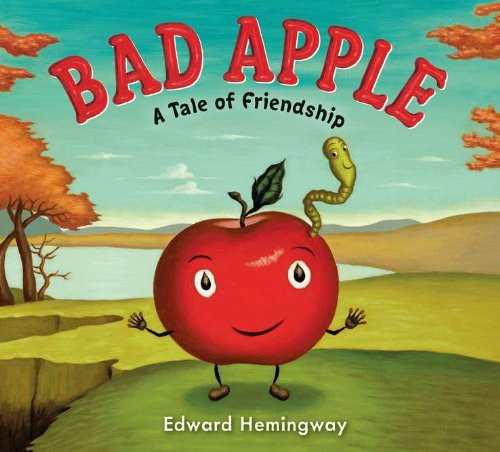 Bad Apple Book Review: Mac is a GOOD apple who learns to stand up to the bullies in the orchard when they start teasing him because of his new friend, Will the Worm. Perfect for Grade 1.