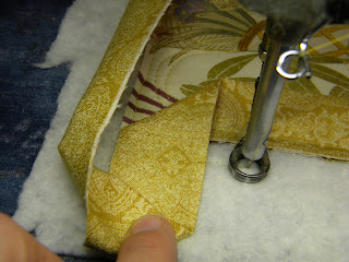 what is a precision haircut s doodling needle applying binding while on the longarm 3819