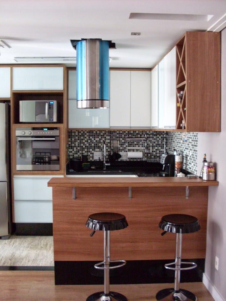 Cozinhas com península Blog de Decoração e Reciclagem l
