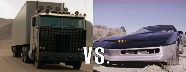 Knight Rider At 30: Goliath vs  K A R R  - Rediscover the '80s