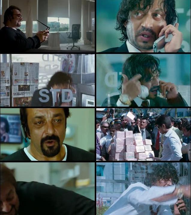 Knock Out 2010 Hindi 480p HDRip 300mb