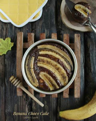 Resep Banana Choco Cake Tanpa Mixer Ala Resto Yang Lagi Trending Di Instagram By @dapurlinna