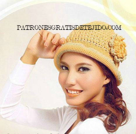 12 Patrones de Gorros Crochet   Crochet y Dos agujas - Patrones de ...