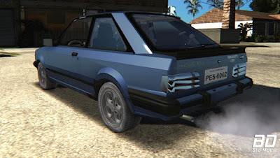Download ,mod, carro, Ford Escort XR3 1989 para o jogo GTA San Andreas, GTA SA PC