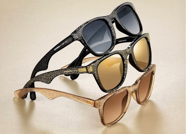 Carrera By Jimmy Choo, Rock Chic Sunglasses, glitter, leopard, limited edition